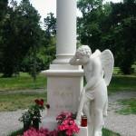 Austria, Vienna, St. Marx Cemetery, The gravestone of Wolfgang Amadeus Mozart