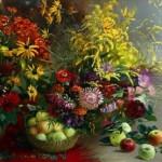 Russian artist Marina Zakharova
