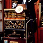 Barrel organ player in Vienna, Austria.