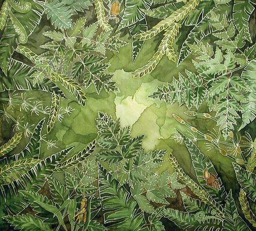 Batik world by Mary Kaminskaya