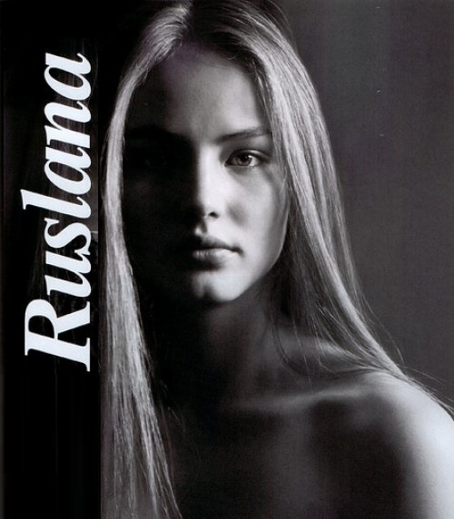 Beautiful Russian model Ruslana Korshunova