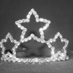 Bridal crowns with genuine Swarovski crystals