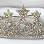 Bridal Tiara decorated with Swarovski Crystals