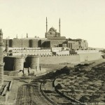 Cairo Fortress and Mosque Mohammed Ali Pasha. Egypt in retro photographs of 1870