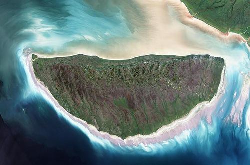 Earth Observatory Photographs - Akimiski Island