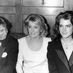 Catherine Deneuve, Brooke Shields et Richard Anconina