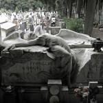Ancient cemetery of Staleno in Genoa