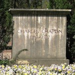 Chaplin's grave in Switzerland