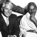 Gandhi and Chaplin, London, 1931