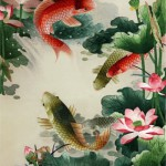 Traditional Chinese silk embroidery