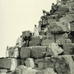 Climbing the pyramid. Egypt in retro photographs of 1870