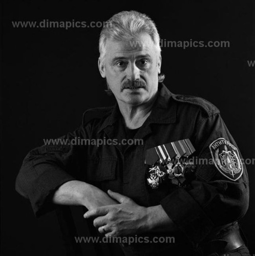 Alexander Mikhailov, Colonel. Member of the group 'Alpha' in 1982-2005. Fought in Afghanistan and Chechnya