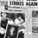 Newspaper article. Curse of the Crying Boy