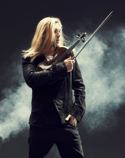 German violinist David Garrett
