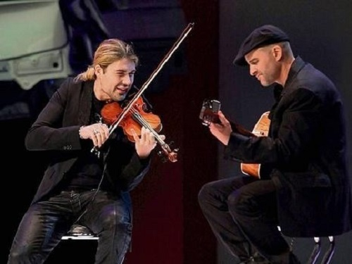 Performing David Garrett