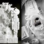 Stunning paper cut art by French stylist and set designer Sabrina Transiskus