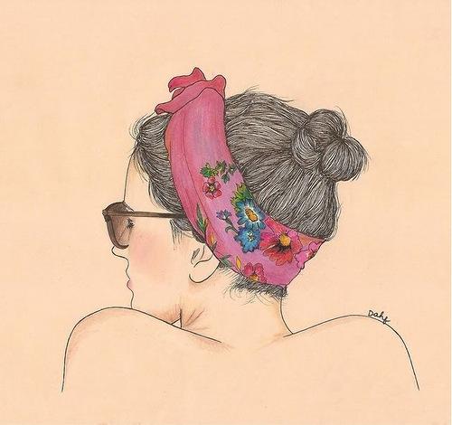 Water color illustrations by Chilean artist Daniela Dahf Henríquez