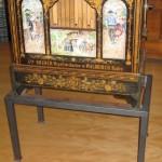 Drehorgel mit Stiftzylinder, 12 Melodien und 25 Tonstufen hergestellt um 1860 von den Gebrüdern Bruder in Waldkirch