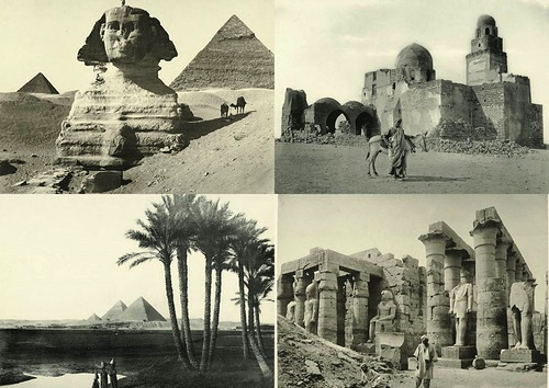 New York Public Library Archive photographs Egypt 1870