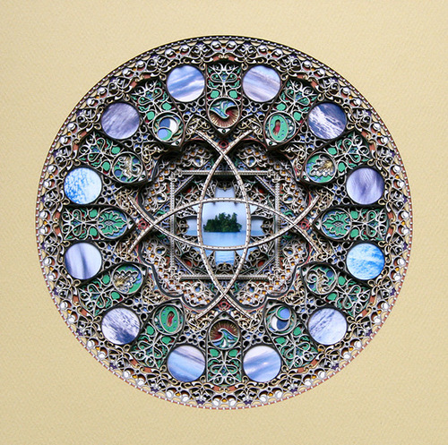 Paper Cut Art by American artist Eric Standley