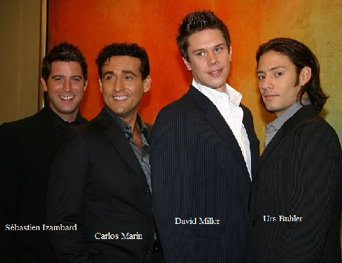English multinational operatic pop vocal group IL Divo