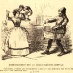 Entertainment for an organ-grinding ruffian