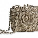 Swarovski crystals handmade clutch
