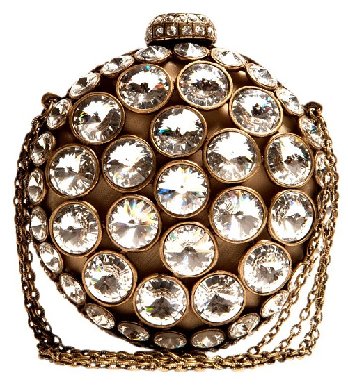 Stunning minaudiere, handmade, Swarovski crystals
