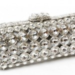 Elegant Clutch, handmade, Swarovski crystals