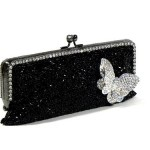 crystals Jeweled floral magnetic clasp