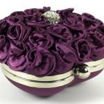 Beautiful purple bag Clara Kasavina