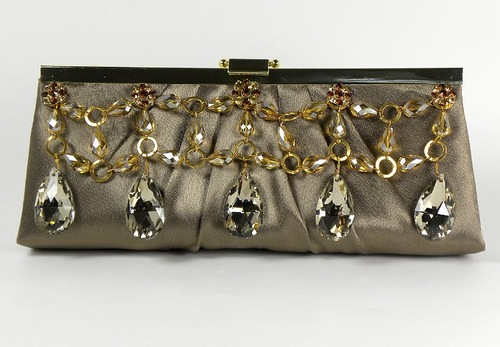 Worth a princess, handmade clutch