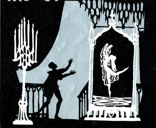 Fairytale silhouettes by German silhouette animator Lotte Reiniger