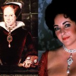 Ladies who wore La Peregrina pearl