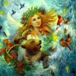 Fedoskino Laquer Art by Russian artist Nadezhda Strelkina