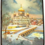 Traditional Russian miniature painting