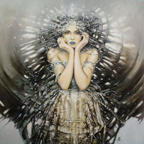Painting by Polish artist Karol Bak