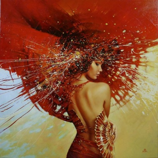 Painted beauty by Karol Bak