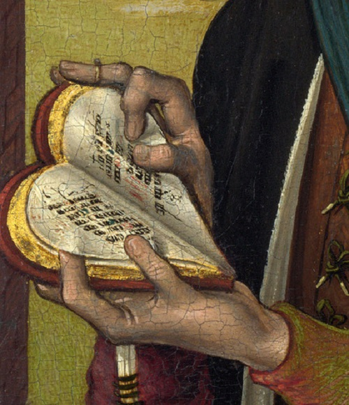 French music book, circa 1475