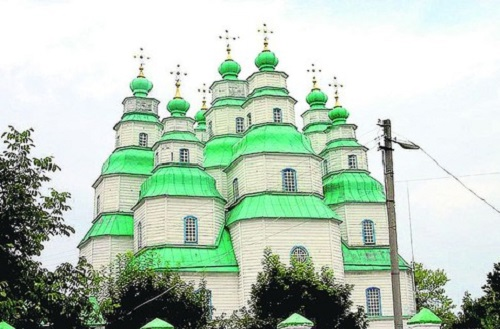 Orthodox church built without a single nail