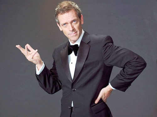 English actor Hugh Laurie