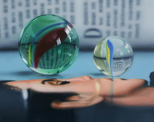 Hyper realistic oil painting by Canadian artist Jason de Graaf