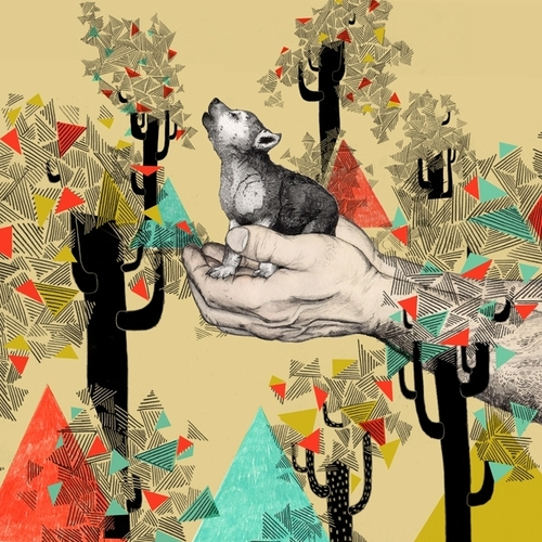 Illustration by British artist Sandra Dieckmann