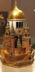 Imperial Faberge Egg - Moscow Kremlin Egg