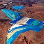 Intrepid Potash evaporation ponds