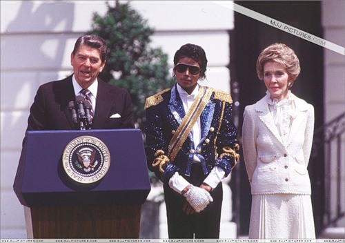Jackson and the Reagans