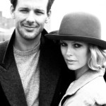 Young actors Kim Basinger and Mickey Rourke in Nine 1/2 Weeks