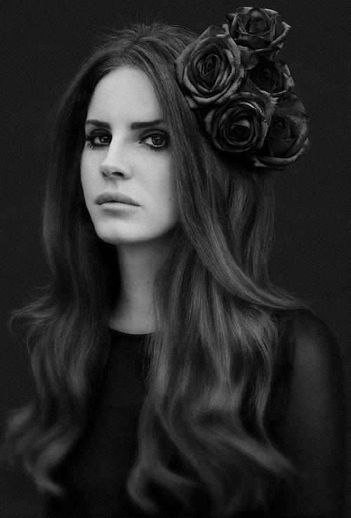 Retro inspired Lana Del Rey
