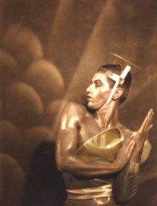 Lifar in the ballet La Chatte, 1927