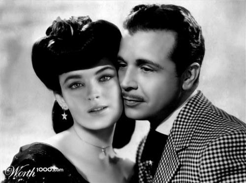 Lindsay e Dick Powell